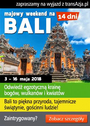 Zapraszamy na wyjazd na Bali