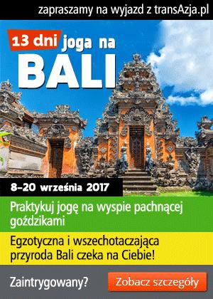Zapraszamy na wyjazd na Bali połączony z praktyką jogi!
