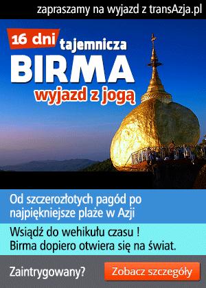 Wycieczka do Birmy, 16 dni, objazdowa z pobytem na plaży Ngapali i praktyką jogi  | transAzja.pl