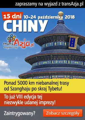 Zapraszamy na wyjazd do Chin!