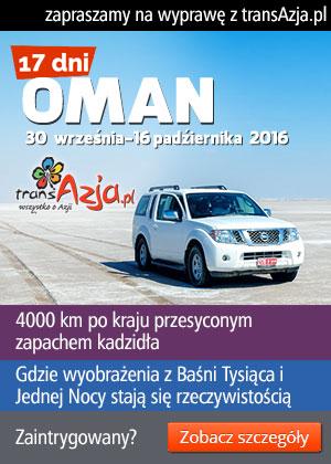 Zapraszamy na wyprawę samochodową do Omanu!