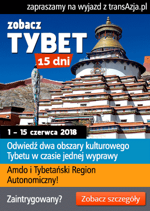 Zapraszamy na wyjazd do Tybetu